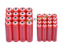 aa alkaline - battery cell x AA mAh x AAA mAh V NiMH Red Color Rechargeable Battery Cell A A