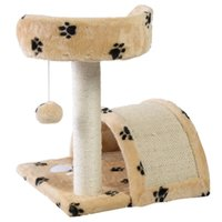 Wholesale Deluxe Cat Tree quot Level Condo Furniture Pet Play House Scratching Post Kittens