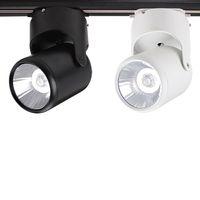 Wholesale cob track lighting led spotlights W W W W W warm white white cold white adjustable track lights V CE ROHS UL