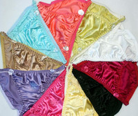 Wholesale Manufacturer Pieces Sexy Women s Silk String Bikini Panties Size M L XL XXL XXXL