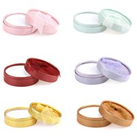Wholesale Hot Jewelry Box Paper Bracelets Earrings Rings Display Jewelry Gift Boxes Round Mixed gift box for jewelry