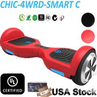 Wholesale IO CHIC UL Hoverboard USA Stock Smart Scooter Electric Scooters Skateboards Wheels Drifting Board UL Charger Self Balancing Scooter