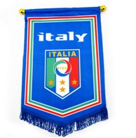 Wholesale SPORT TIME Football souvenir giants team five euro euro Italian flag to exchange them CM