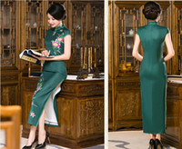 Wholesale Chinese Cheongsam Women s Summer Dress Cheongsam New Prom Evening Dresses Cocktail Party