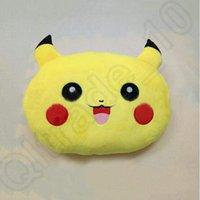 Cheap 35*25*10cm Poke Plush Pillow Pikachu Pillow Cushion Cartoon 14 inches Pikachu Stuffed Animals Pocket Monster Pillows CCA4752 60pcs