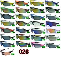 achat en gros de homme de couleur de la mode-Lunettes de sport hommes lunettes de soleil de vélo de verre extérieur lunettes de soleil de cyclisme ROSE éblouir couleur miroirs A +++ 29colors livraison gratuite