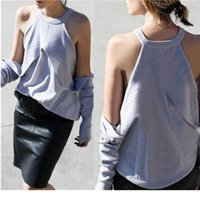 Wholesale 2016 womens summer style T Shirt fashion short sleeve tops off the shoulder casual T Shirts women clothing Party Blouse
