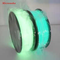 Wholesale Micromake D Printer Filament mm PLA Materials for D Printer kg Glow Green and Glow Blue Color Environmental Consumable