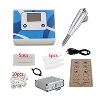 Wholesale Top portable digital display permanent makeup kit Tattoo complete eyebrow and lip tattoo makeup machine