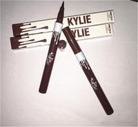 Wholesale 12pcs HOT NEW KYLIE Pencil waterproof liquid eyeliner black makeup eyes long lasting eyeliner ml oz high quality DHL