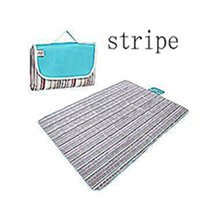 Wholesale Oxford Cloth and Waterproof Outdoor Picnic Mat Or Yoga Mat Striped paragraph Multiple Size and Multicolor