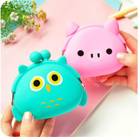 animal purse for kids - Children Cute Silicone Pocket Money Purse Kids Wallet Coins Bag Small Cartoon Animal Design Child for Boys Girls