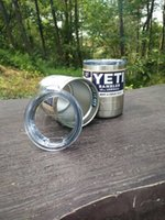Wholesale YETI with lid oz oz oz oz YETI Cups beer Mug Bottle Colster Rambler Tumbler Stainless Steel fast ship