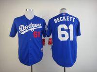 beckett jersey - Los Angeles Dodgers Mens Jerseys Josh Beckett Blue Baseball Jersey High Quality Stitched