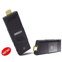 Wholesale DHL Instore cherry trail intel z8300 hdmi stick linux with ubuntu and licensed windows g ram