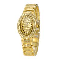 al silver - Relojes Chinas Calientes El Diamante de lujo de la Moda de Relojes De Acero Inoxidable Resistente al Agua Reloj de Cuarzo de la Batería