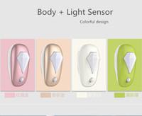 animal motion sensors - Cozy night light the body sensor led night lights special for night lactation kids room smart LED Lamp W