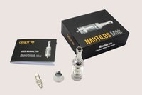 Wholesale aspire mini nautilus tank tanks atomizer clearomizer cf sub k1 bvc bdc replacement coil coils ml ml e cig electronic cigarette ecig clone