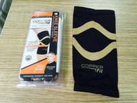 Wholesale 50 Sports Safety Copper Fit Knee Compression Sleeve Sports Braces Supports knee Large Size Outdoors Sports Knee Pads