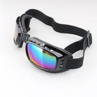 Wholesale 500pcs New Fashion Foldable Windproof Eyewear Dustproof Ski Goggles Motorcycle Glasses For Cycling