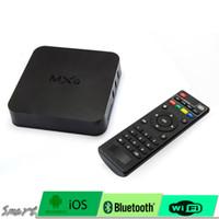 Original MXQ Amlogic S8051GB 8GB Quad Core Mali450 / 600MHz Support vidéo en ligne, télévision, films, musique et radio
