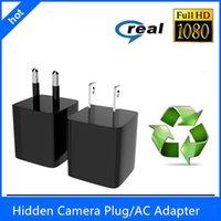 Precio de Cámara espía venta caliente-2016 nuevo Mini 1080P 8GB / 16GB / 32GB HD cámara ocultada vendedora caliente del ESPÍCULO DVR de la cámara US / EU Plug Power Adapter Video Recorder Camera