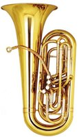 Wholesale C key Piston Tuba Height mm Lacquer Finish with Foambody Case EMS