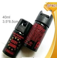 Wholesale HQ Self Defense Pepper Spray RY Defender Hot Protection Device Safety Security with leather case in stock now Ms outdoor self defense equipm