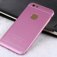 aluminum stains - Stylish Sleek Light Weight Covers Aluminum Frame Bumper Hard Back Plastic Phone Cases against Bruises or Stains