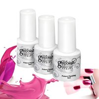 nail charms - Removable Charming Gelish Nail Polish Women Sweet Girl Color Long Lasting Manicure Soak off lacquer Nail Glue Nail Polish finger ink