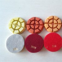 Wholesale Diamond resin floor polishing pads for concrete stone