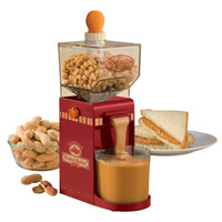 almond machine - New v electric peanut grinding machine peanut butter maker cashews almonds hazelnuts sauces mixer mill EU plug cooking tool