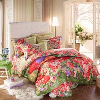Wholesale Home Textiles of bedding set cotton reactive printing textile bed clothes