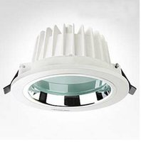 al switch - ing w LED Downlight AC85 V LM AL PMMA White paint SMD5730
