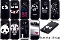 Wholesale For Samsung S7 EDGE cases A310 A510 A710 Cartoon panda Lion Dandelion Gel TPU back Cover iphone s plus