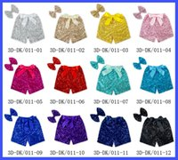 Wholesale Hot Sale Sequin Shorts for Girls