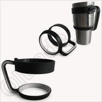 beverage tumbler - Yeti Cup Holder Handles Drink oz And oz Tumbler Cooler Cup Rambler Beverage Hot Mug Handle Outdoor Portable Cup Handle CCA4571