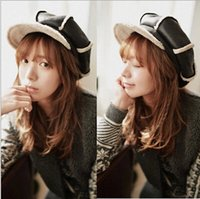 active lei - New England deerskin cashmere octagonal cap newsboy caps painters complex Gubei Lei hat female winter warm