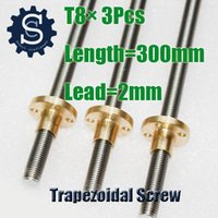 Wholesale 3D Printer Lead Screw X T8 mm mm mm mm Lead CNC Parts