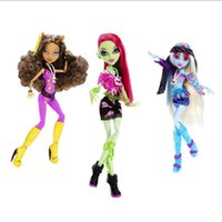 Wholesale Original Dolls Monster Toys Clawdeen Wolf Venus McFlytrap Abbey Bominable High Quality Toy Gift for Children Hight Classic Toys