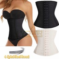 bodysuit - Good Quality Bodysuit Women Waist Trainer Slimming Shapewear Training Corsets Cincher Body Shaper Bustier