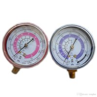 air conditioner pressure - Pair Air Conditioner R410A R134A R22 Refrigerant Low High Pressure Gauge PSI KPA H210440