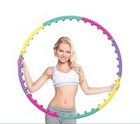 Wholesale New magnet fitness hula hoop massage hoops removable hula hoop for women hoops