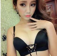 Wholesale Hot selling pure bras push up bandage lady bra adjusted straps seamless women s underwear