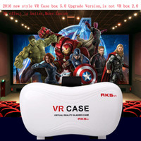 Wholesale Professional VR Case Box Version Smart Glasses VR virtual reality D glasses for IOS for Android for inch Smart Phone