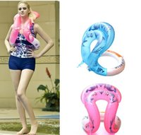 Wholesale Super elastomeric Children Adult Thickness Life buoy Circle Swimming Ring Swim Equipment colors sizes
