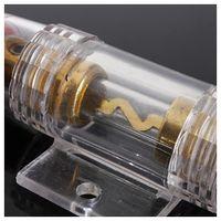 agu fuse - CNIM Hot Audio Refit Clear AGU Fuse Holder Gauge Wire Pack AMP Fuses