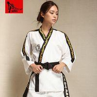best taekwondo - genuine high end clothes children doboks Poomsae long sleeved clothing adult men and women Taekwondo summer best Beesty mens vest fall