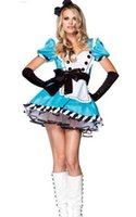 alice in wonderland costume adult - High Quality Sexy Costumes For Adults alice in wonderland costume Hot Sale Charming Alice Costume F1282