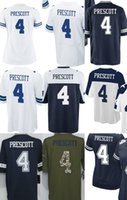 Wholesale Dallas DAK PRESCOTT Blue White Thanksgiving White Blue Men s Women s Kid s ELITE GAME LIMITED All stitched Jerseys